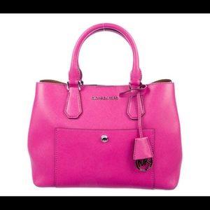 MICHAEL, MICHAEL KORS-NWT Pink Leather Handbag